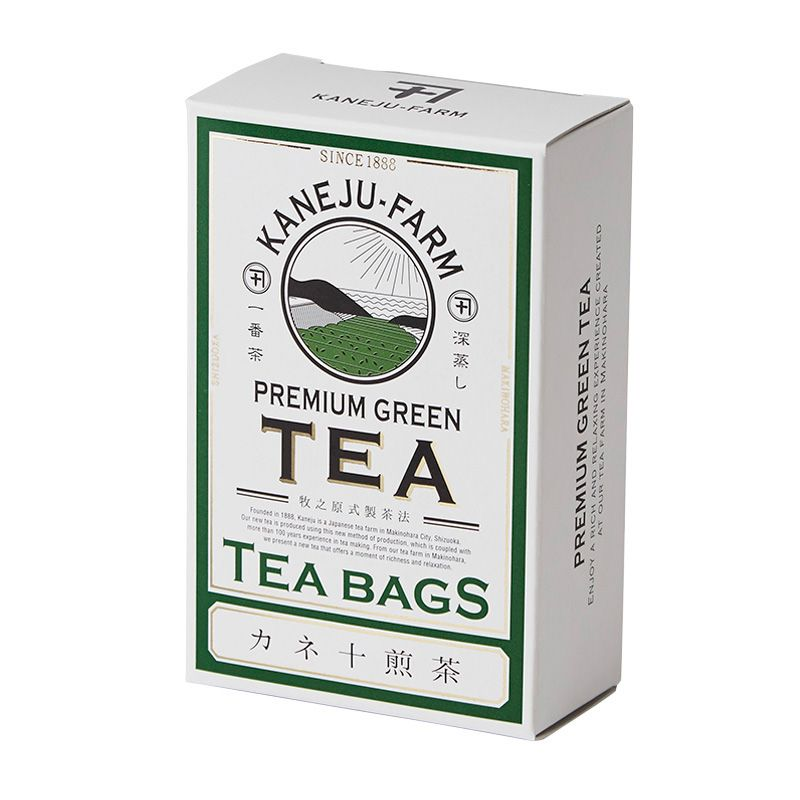 KANEJU SENCHA 30GX10P TEA BAG #teapackaging
