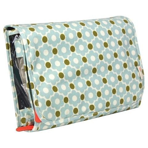 Orla Kiely Wild Meadow Valet Large Hanging Organizer Cosmetic Bag
