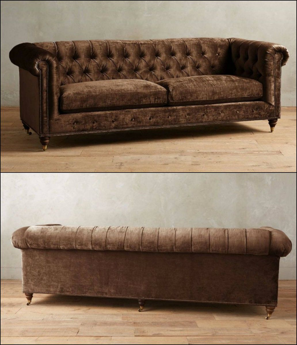 Best This Ancestral 18Th Century Chesterfield Model Is A Button 400 x 300