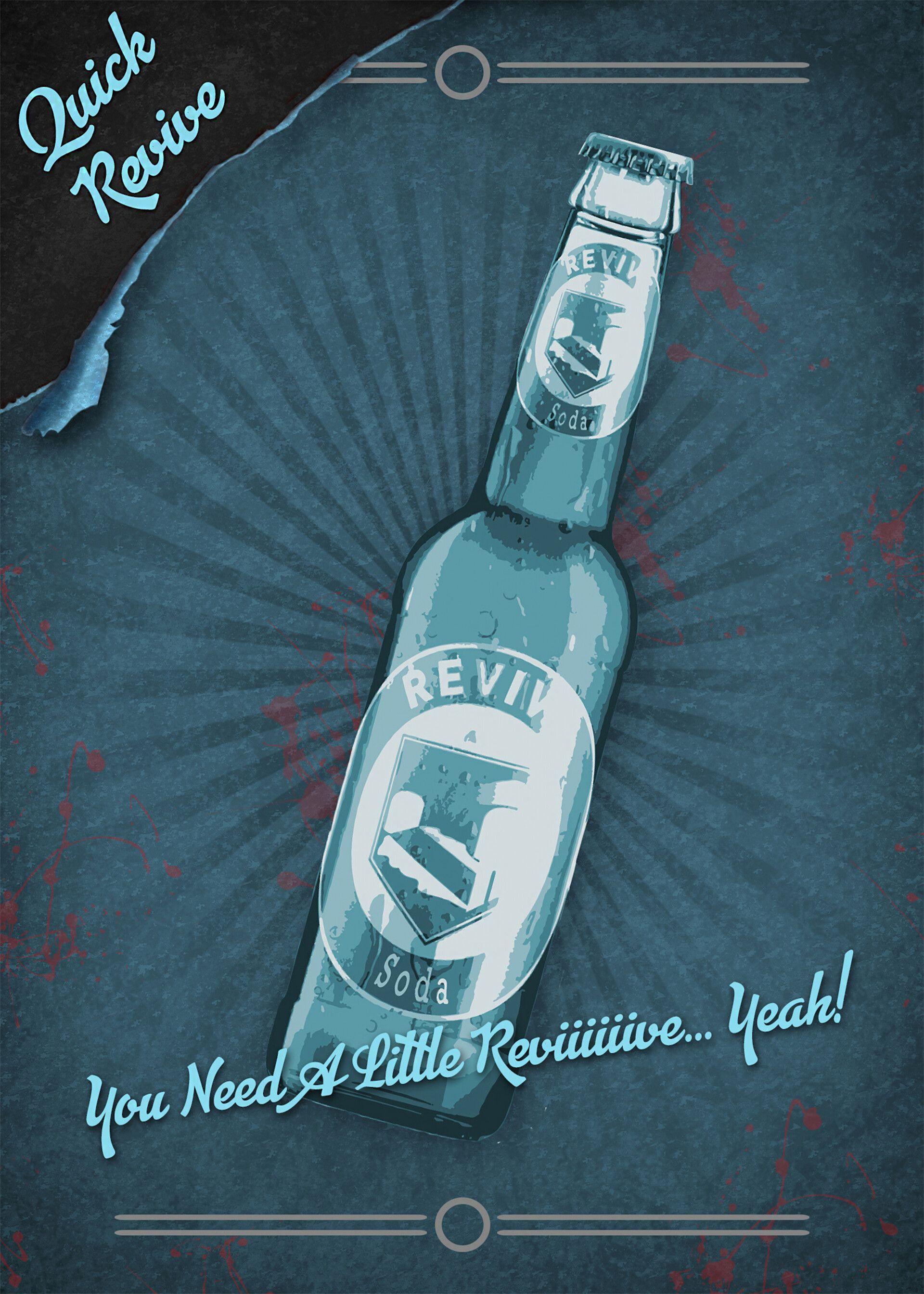 Artstation Call Of Duty Quick Revive Perk Poster David Hyde In 2020 Call Of Duty Zombies Call Of Duty Call Of Duty Perks
