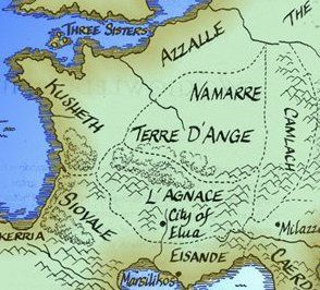 Pin by Heather Flores on d'Angeline | Map, Writing, Books Map Kushiel on terre d'ange map, malazan world map, randland map, camorr map, tamil map,