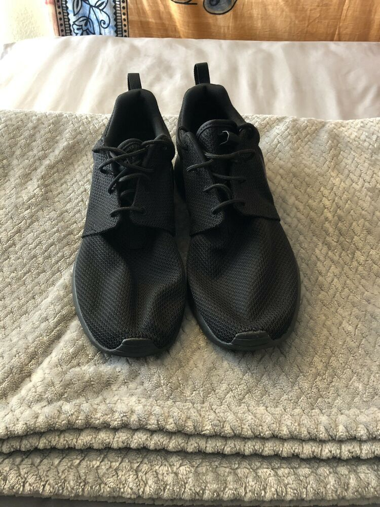 96d7783fde280 NEW Nike Roshe 1 Triple Black Mens US 11  fashion  clothing  shoes   accessories  mensshoes  athleticshoes (ebay link)