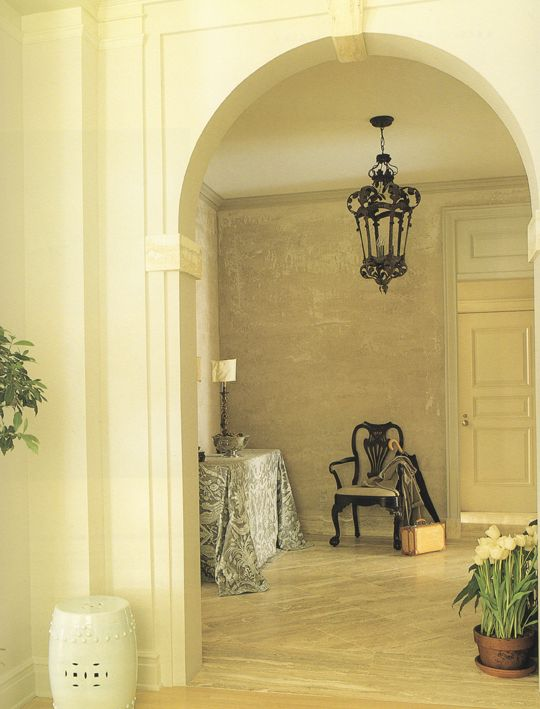 What is scratch coat plaster anyway? Walls, Foyers and Plaster walls - paredes de cemento