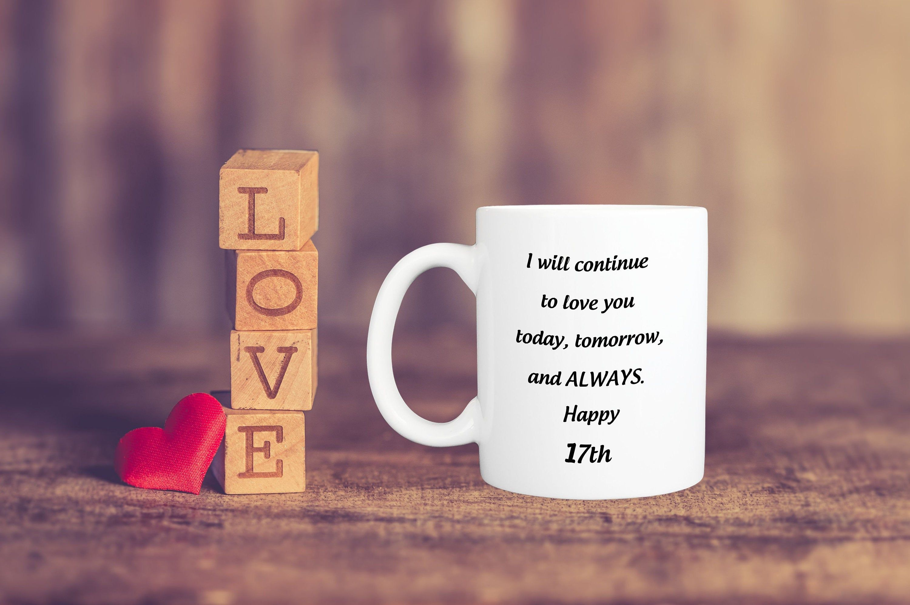 17 Anniversary Gifts For Wife, 17th Wedding Anniversary