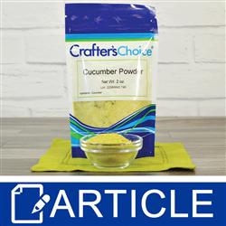 Ingredient Spotlight: Cucumber Powder | Garden Party