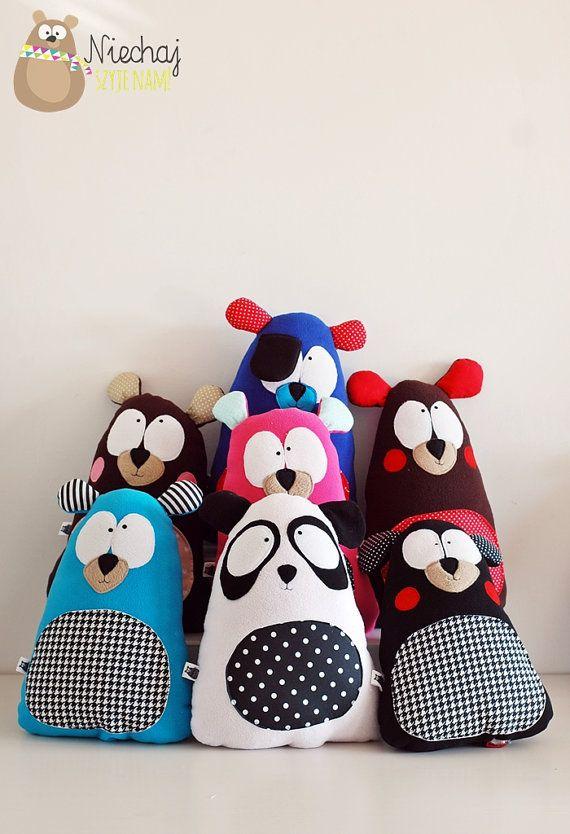 Oso de peluche regalo para niños Pilot por SewManUniverseMaster