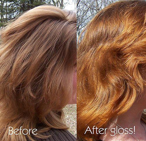 Wendy Before And After Henna Gloss H E N N A Henna Hair Hair