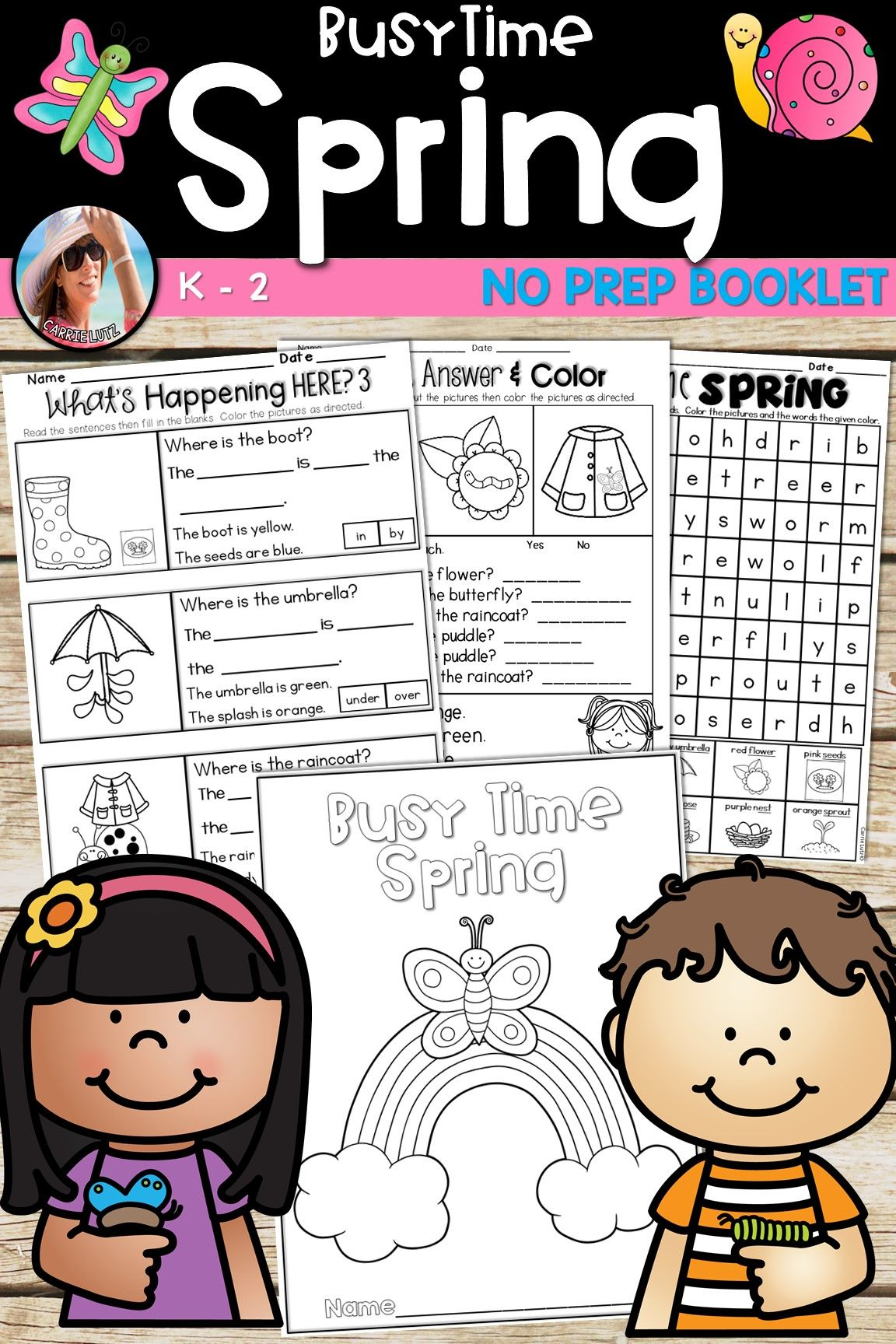 Spring Worksheets Distance Learning Spring Classroom Activities