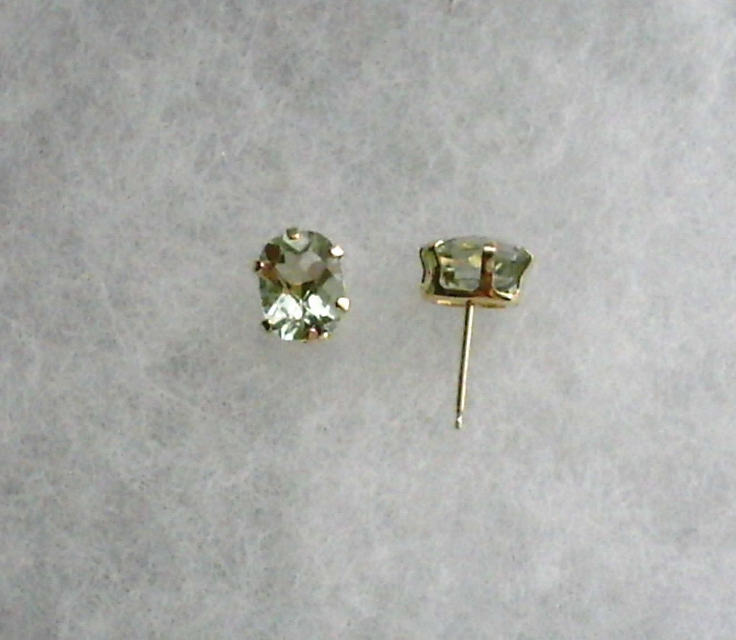 a yg ladies gold bezel itm solitaire round diamond casual earrings stud