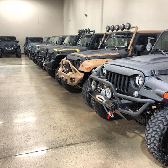 Starwood Motors Showroom, Dallas, TX.