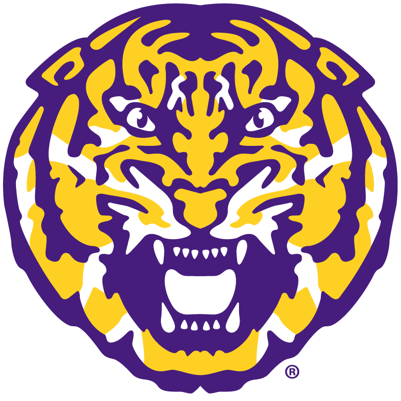 Lsu Tiger Head Lsu Tigers Lsu Tigers Logo Lsu