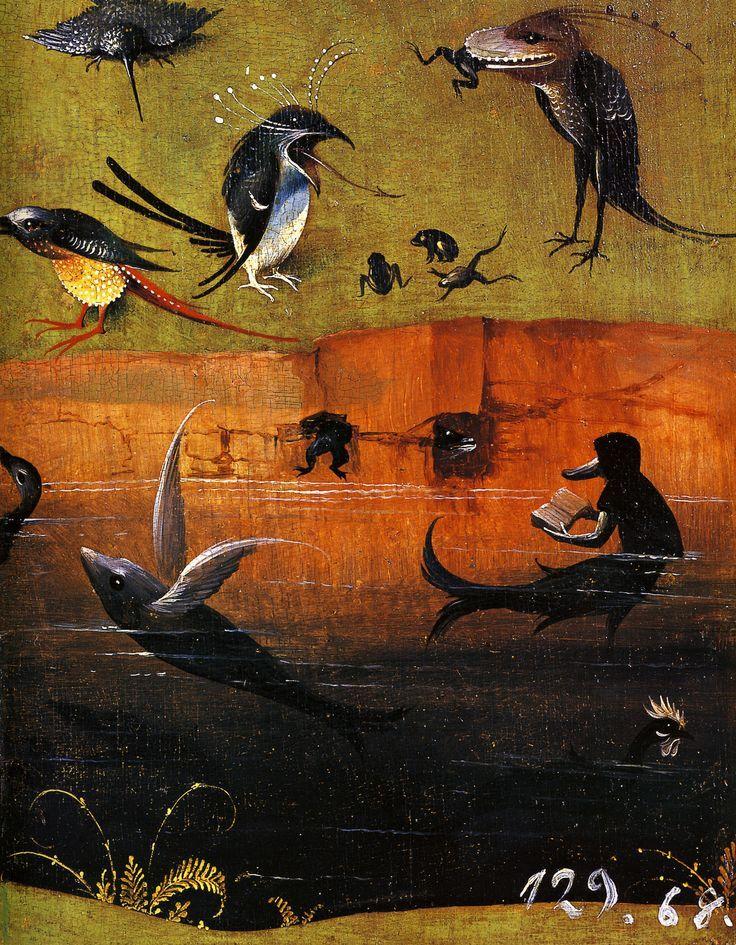 Pin De Eve Chartrand En El Bosco Producción Artística Pinturas Hieronymus Bosch