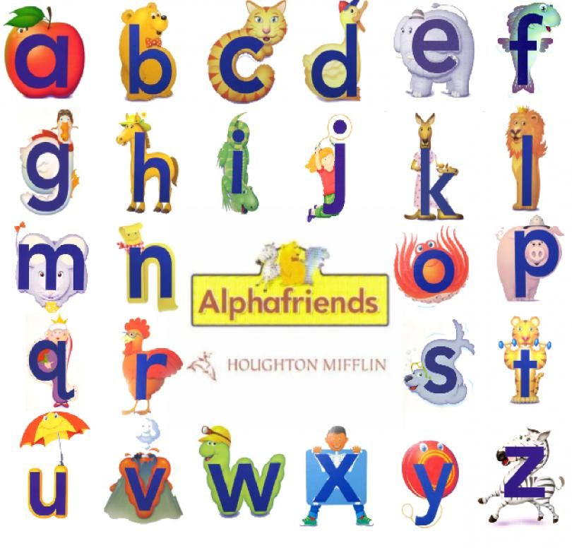 photo about Alphafriends Printable known as houghton mifflin alphafriends printables - Google Seem