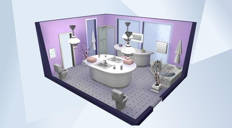 Check Out This Room In The Sims 4 Gallery Sims House Sims 4 House Design Sims 4 Loft