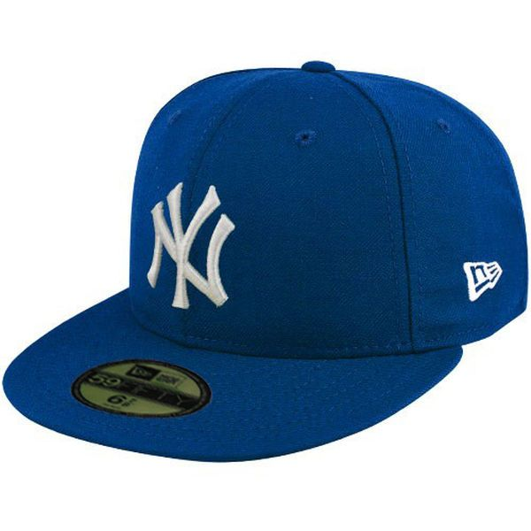 New Era New York Yankees Royal Blue League Basic Fitted Hat ff1ebdbd164