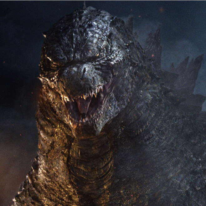 Fan art for the Godzilla 2018 sequel, Best one I have done ...