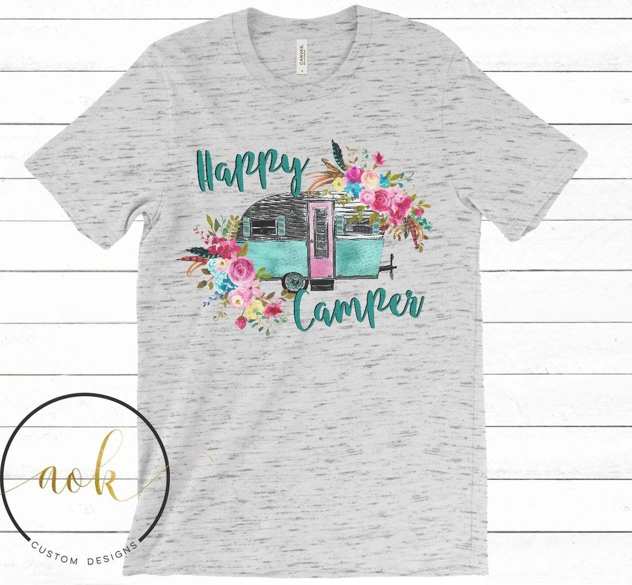 One cute camper tshirt