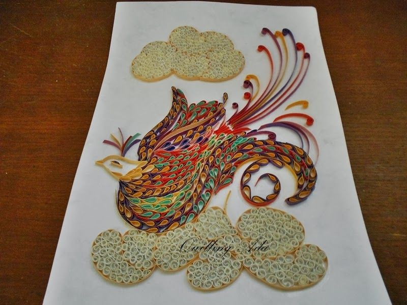 Quilling by Ada: Tablou