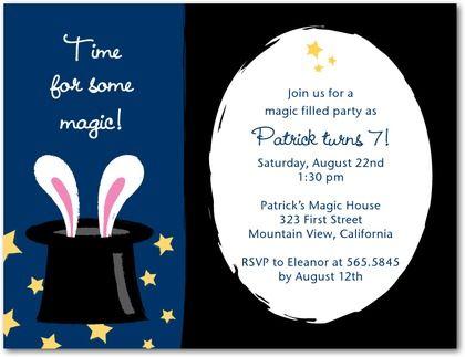 Tiny prints studio basics birthday party invitations magic show baby shower invitations custom baby shower invites shutterfly filmwisefo Image collections