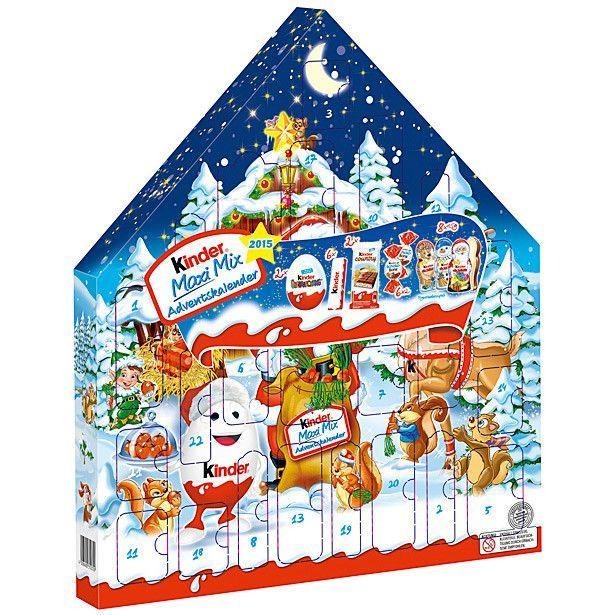 Milka Weihnachtskalender.In Usa Kinder Maxi Mix Advent Calendar With Surprise Eggs