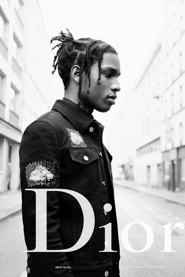 ASAP Rocky Stars in Dior's Summer 17 campaign on Aap