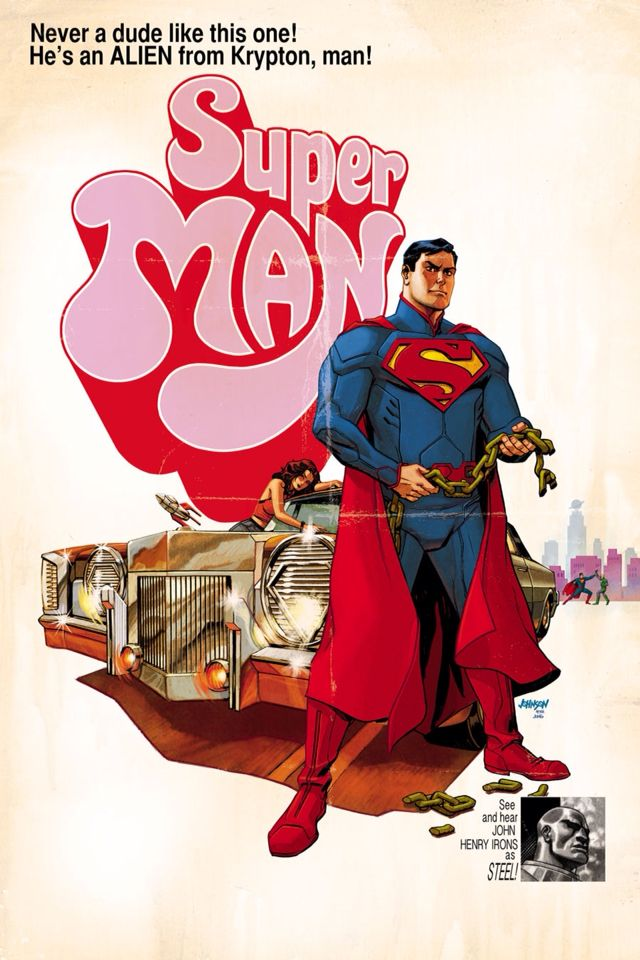 Superman Movie Poster Variants