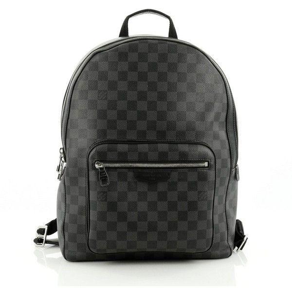 e89d07750a1f Pre-Owned Louis Vuitton Josh Backpack Damier Graphite ( 1