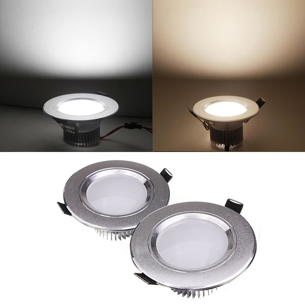 12w Led Down Light Ceiling Recessed Lamp 85 265v Driver Led