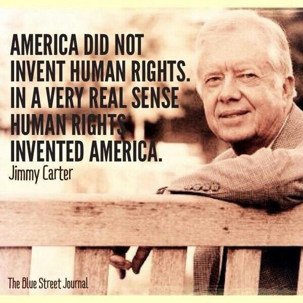 Jimmy Carter on Human Rights