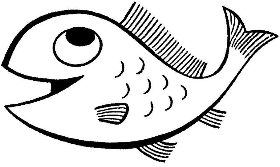 Ausmalbilder Fische Hai | Malvorlagen Fische | Pinterest ...