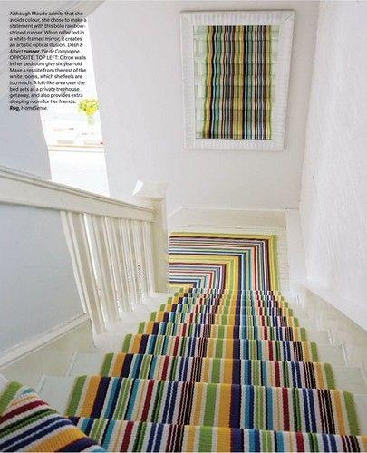 Dash And Albert Striped Stair Runner Love This Look Carpet