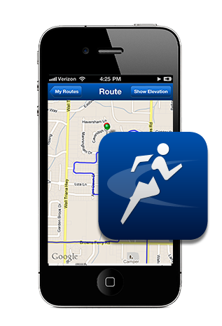 MapMyRun map out a run to plan your distance. or download