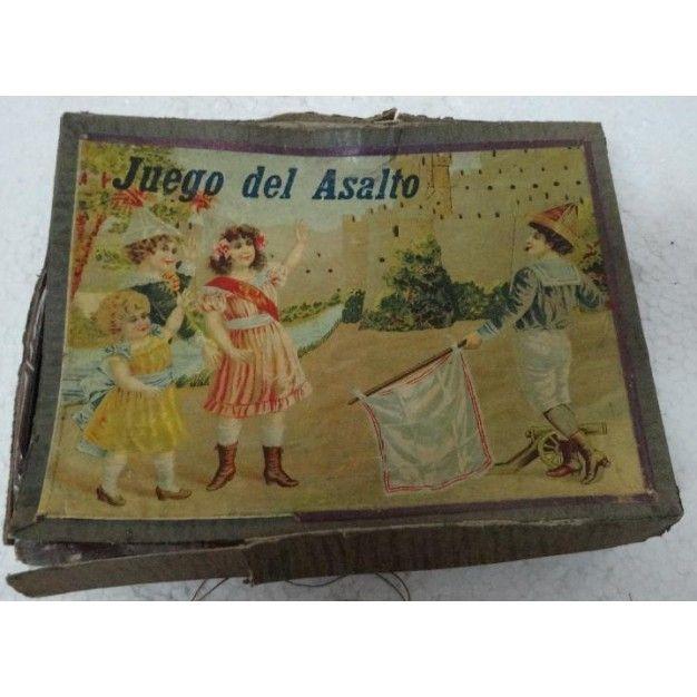 JUEGO ANTIGUO  DEL ASALTO