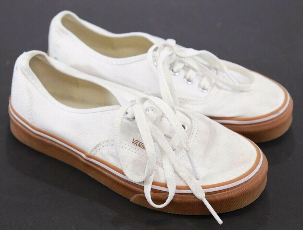 High Top Vans Größe 7 Skater Schuh Schwarz und Weiß #Mode