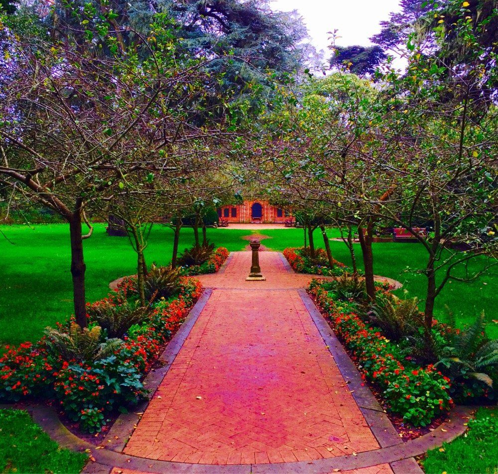Shakespeare Garden San Francisco Ca United States Beautiful Spot