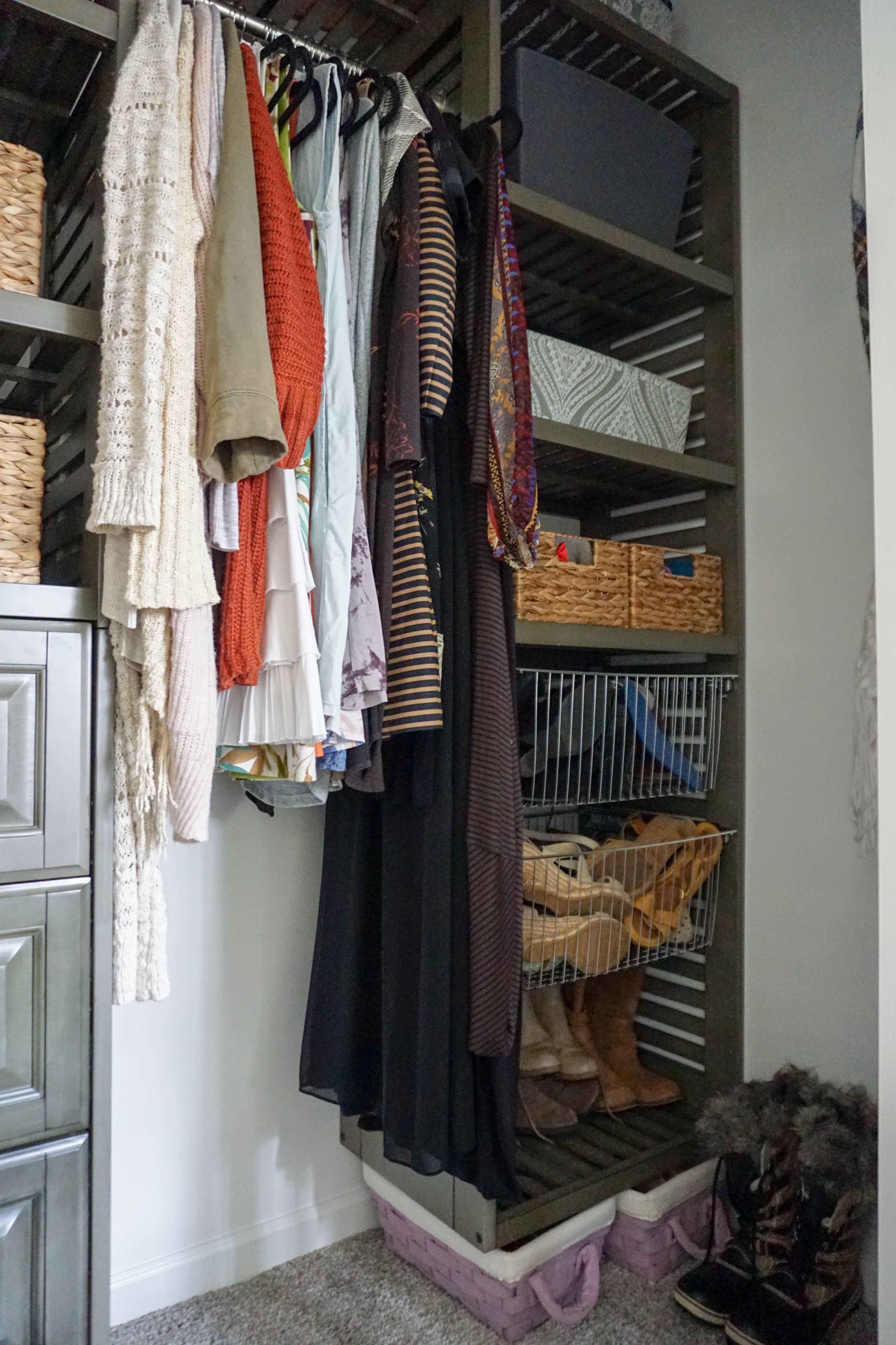 Attirant Modern Modular Closet System | Master Closet Makeover   Dahlias And Dimes
