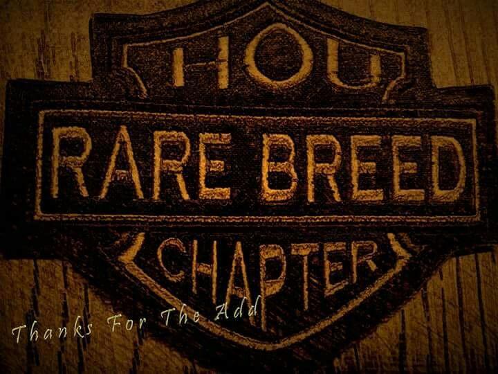 Rare breed Houston TX chapter