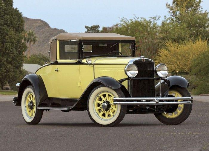 1930 Nash Model 451 cabriolet