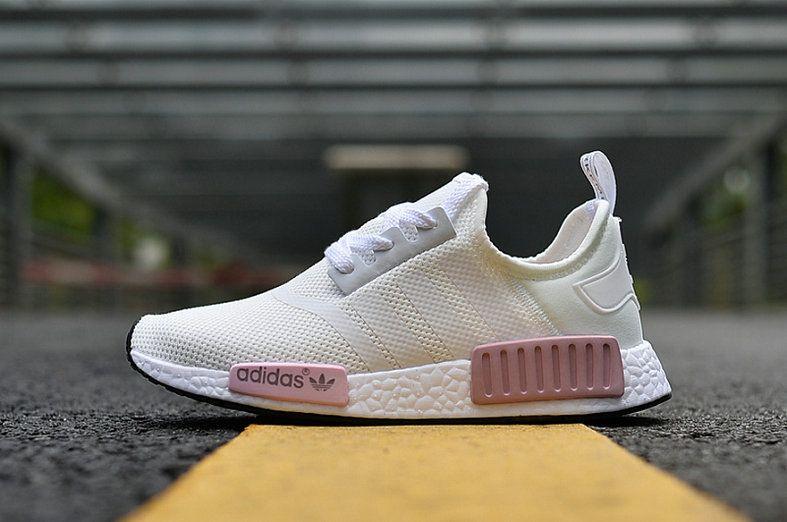 155b154d503 Adidas NMD R1 Footwear White Footwear White Rose By9952 New Sneaker ...