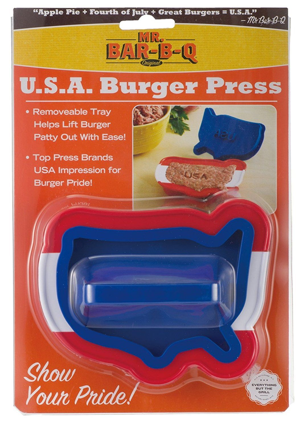 Winning Mr Barbq X Usa Shaped Single Burger Press  Unbelievable  With Magnificent Mr Barbq X Usa Shaped Single Burger Press  Unbelievable Product With Beauteous Wyevale Garden Centre Wokingham Also Garden Catalogues Uk In Addition Soundproof Garden Shed And One Devonshire Gardens Restaurant As Well As Asda Garden Compost Additionally Riccarton Garden Centre From Itpinterestcom With   Magnificent Mr Barbq X Usa Shaped Single Burger Press  Unbelievable  With Beauteous Mr Barbq X Usa Shaped Single Burger Press  Unbelievable Product And Winning Wyevale Garden Centre Wokingham Also Garden Catalogues Uk In Addition Soundproof Garden Shed From Itpinterestcom