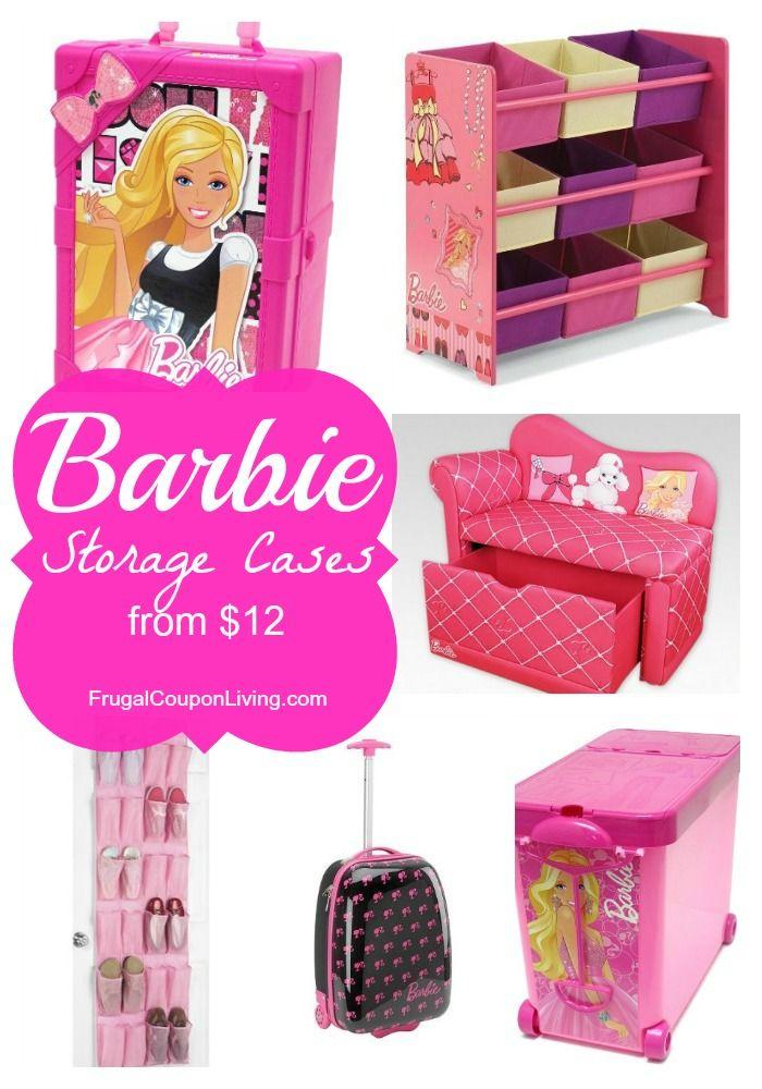 Barbie Storage Cases As Low 12