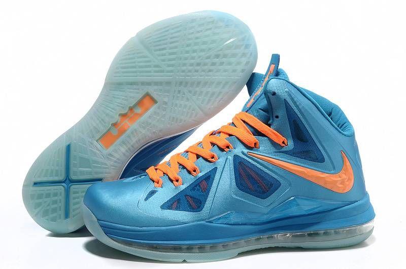 Nike Lebron X (10) Blue Orange | favarts | Sneakers nike