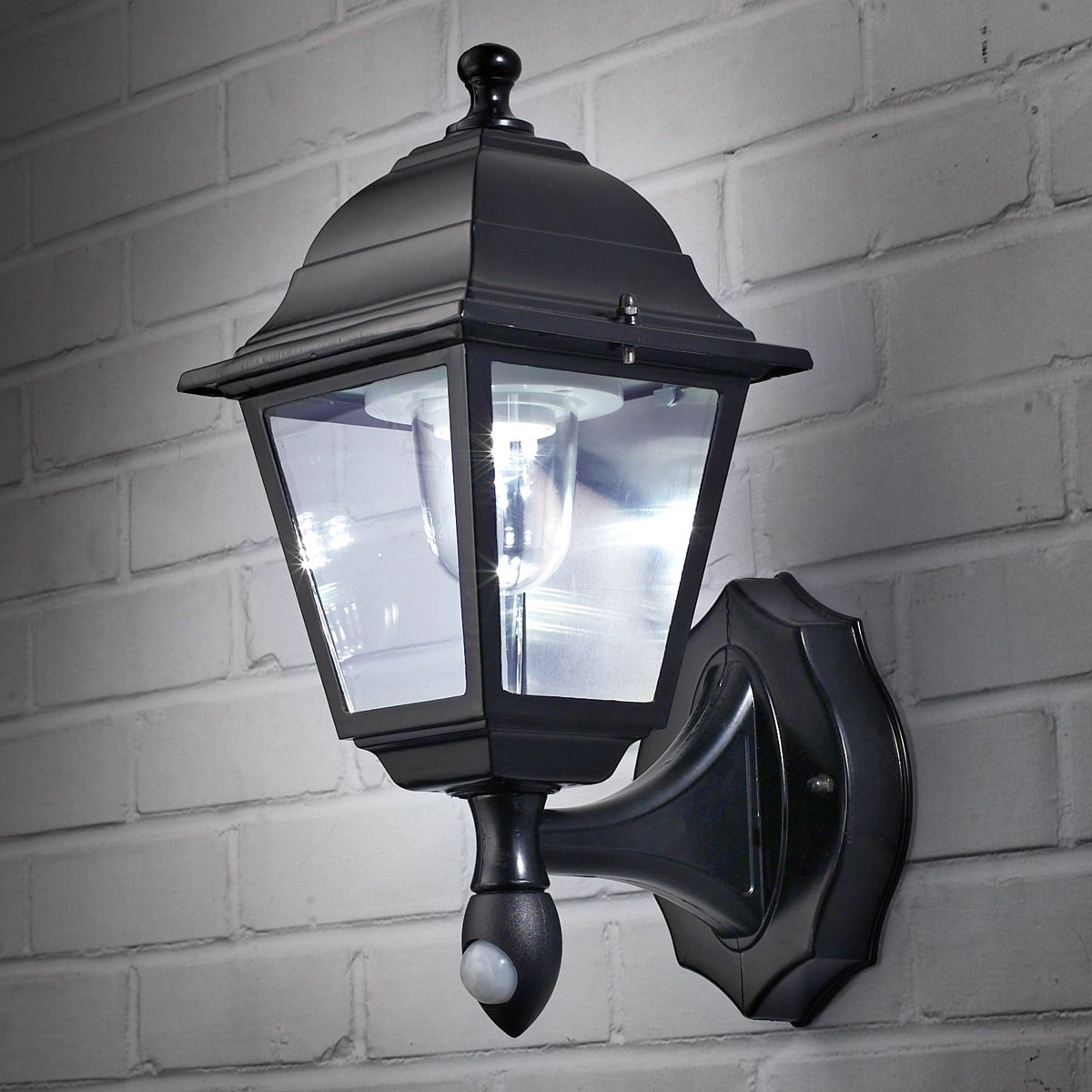 Wireless Motion Activated Outdoor Wall Sconce   From Sportys Preferred  Living