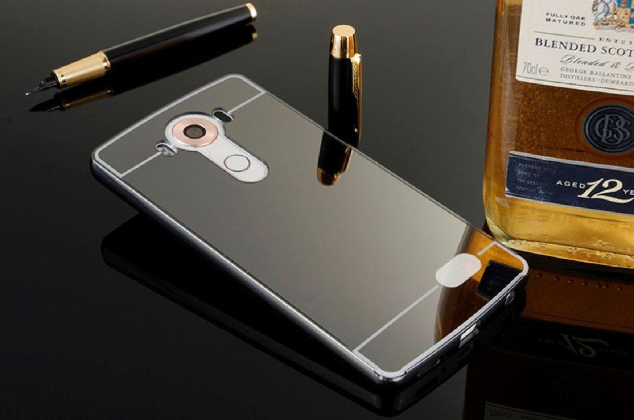 Free Shipping Malloom Luxury Thin Aluminum Metal Bumper Mirror Pc Samsung Note 4 Backcase With Aluminium Black Back Case Cover For Lg V10 F600 Amazoncouk Beauty