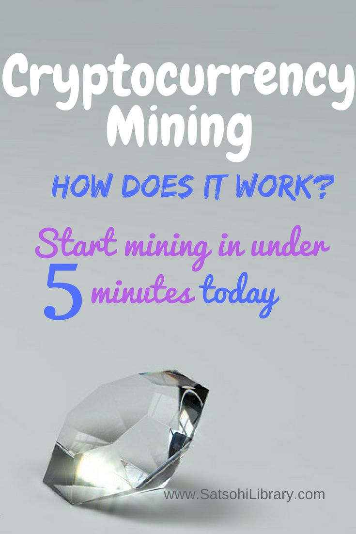 How does cryptocurrency mining work learn to mine crypto