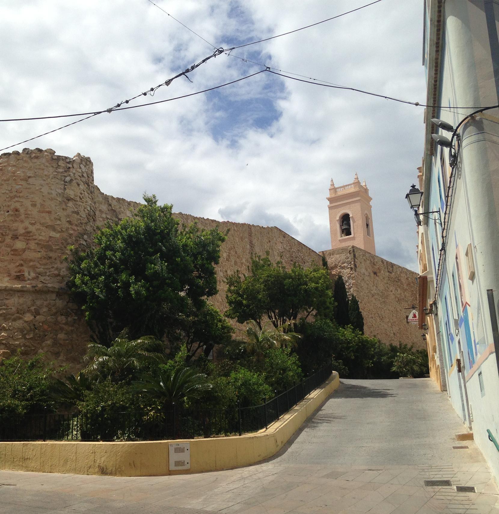 Ce torreó est un reste d'architecture militaire de la citadelle situé dans la vieille ville de #Calpe. On peut y voir également un musée à proximité et l'église. :)