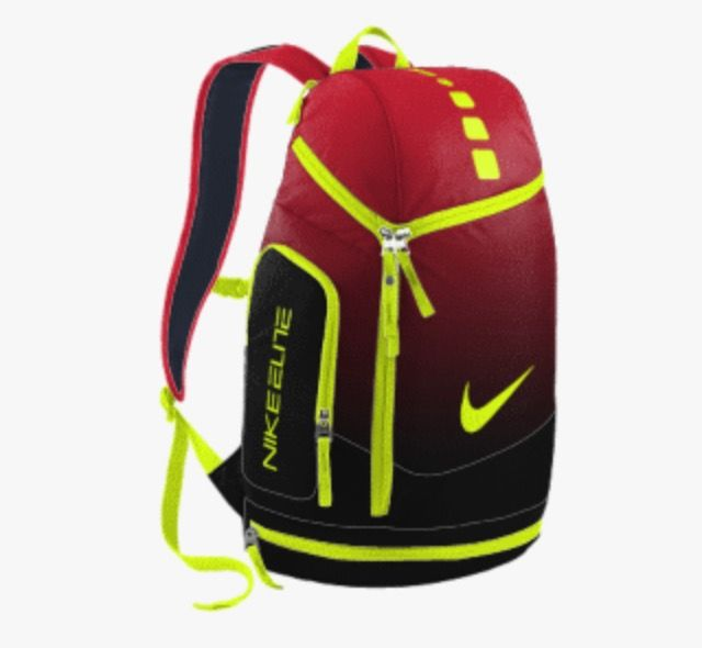 be5e78ea33eb Red Black ombre Nike air max backpack FLASH INSPIRED ⚡