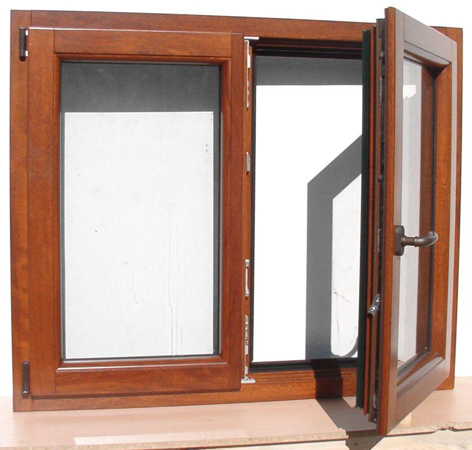 10 ventana mixta madera aluminio verde de doble hoja y for Puertas doble hoja interior madera