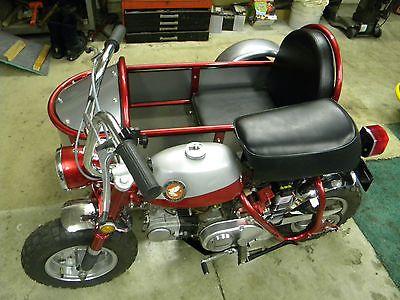 1969 honda z50 sidecar mini bikes motorrad. Black Bedroom Furniture Sets. Home Design Ideas