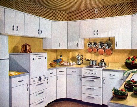 1950 Kitchens kitchens of the 1950s | home design, editor and beautiful